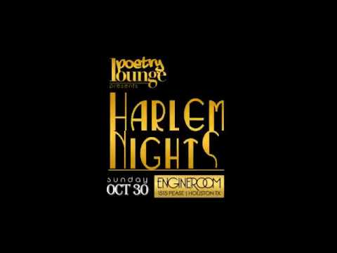 Poetry Lounge Houston: Harlem Nights (Costume Party & Variety Show)