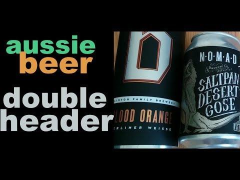 Australian Beer Special - Dainton Family Brewery & Nomad Brewing Company   Akihabeera