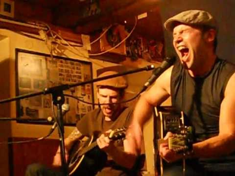 Country Punk Oberland live, Hubbi, Hemhof, Bavaria, Germany 25 minutes