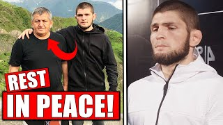 Reactions to Khabib's father PASSING AWAY!...UFC fighters QUARANTINED before Fight Island, UFC 251