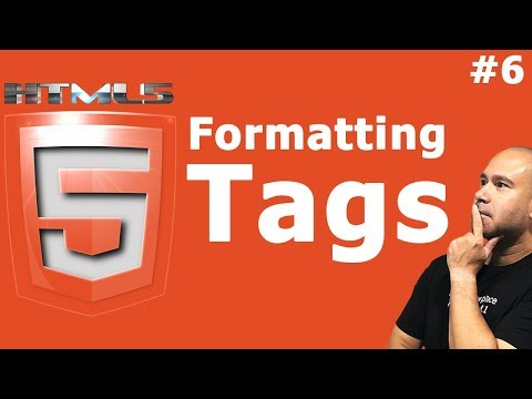 HTML Formatting & Semantic Tags - Tutorial For Beginners
