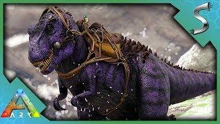 HIS ROAR KILLS ME! TAMING THE OMEGA REX BOSS! - Ark: Jurassic Park [E62]