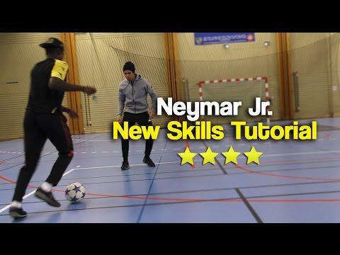 Learn Neymar's New Stepover Skill 2018