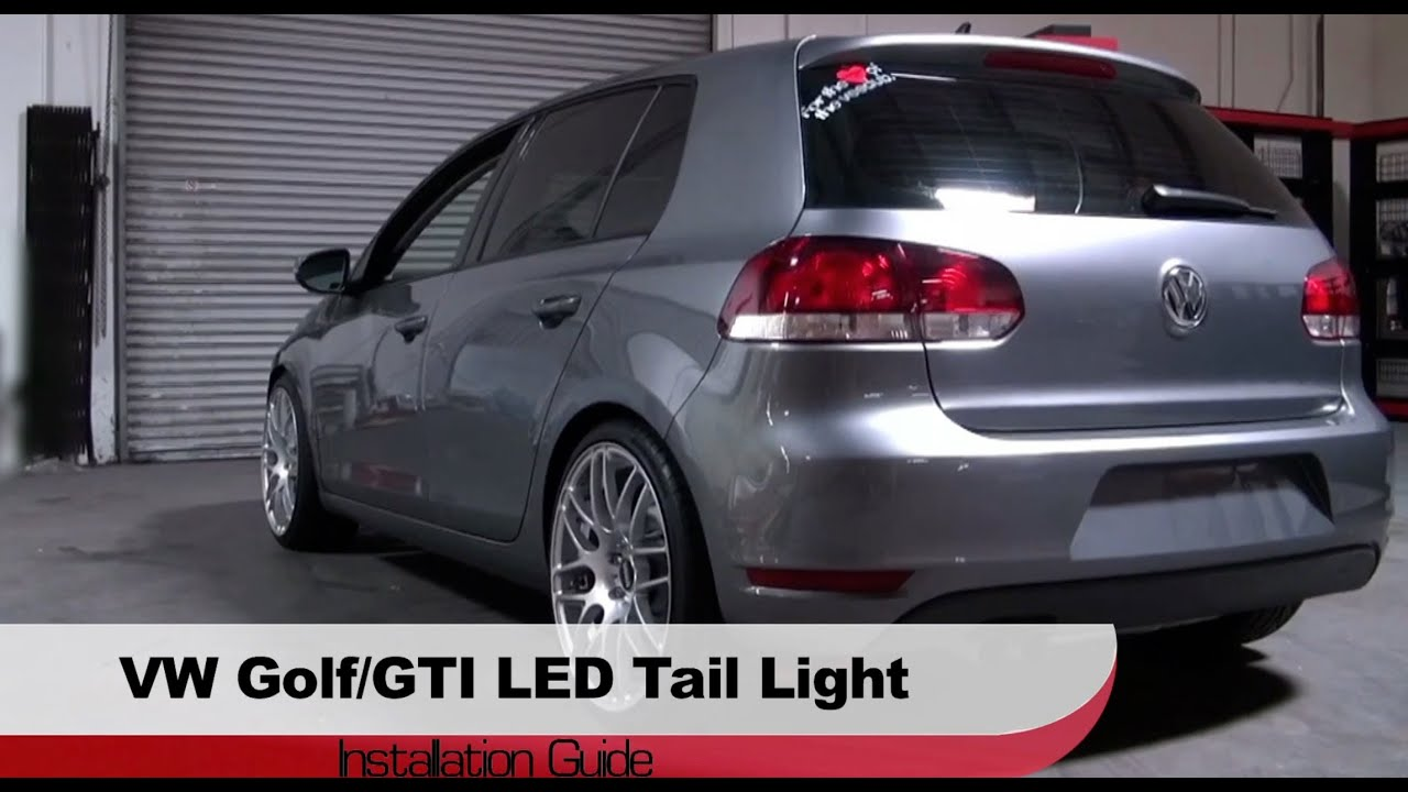 Spyder Auto Installation 2010 13 Volkswagen Golf Gti Tdi