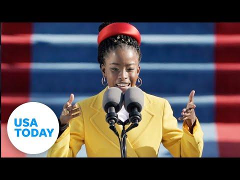 Poet Amanda Gorman steals spotlight at Inauguration with emotional poem   USA TODAY