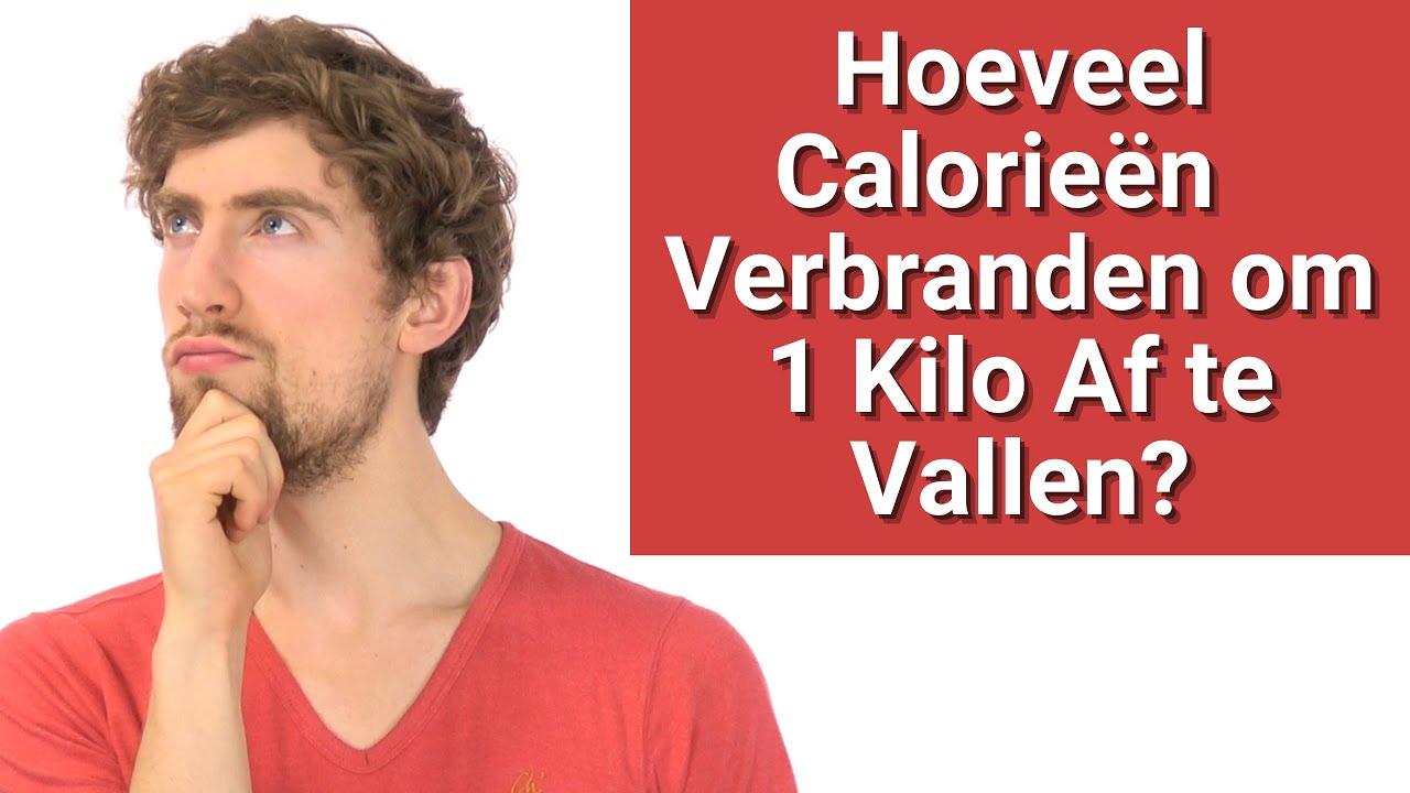 hoeveel calorieën verbranden voor 1 kilo