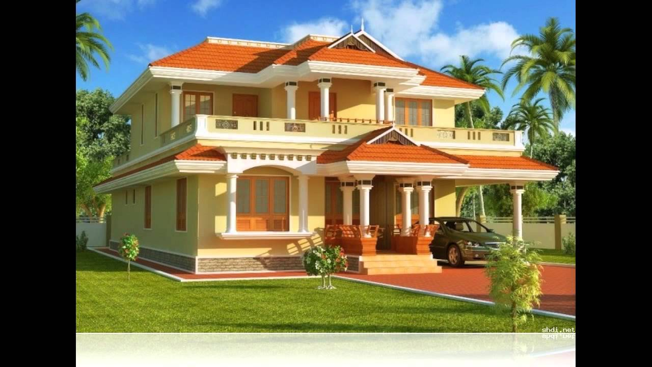 Kerala exterior painting in india joy studio design for Home painting images