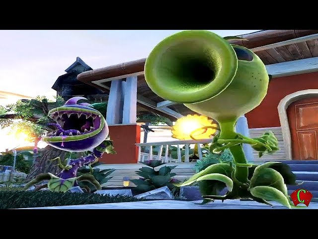 Gamescom 2013 Trailers - Plants vs Zombies Garden Warfare Zombie Gameplay Cinematic Trailer 【HD】 Travel Video