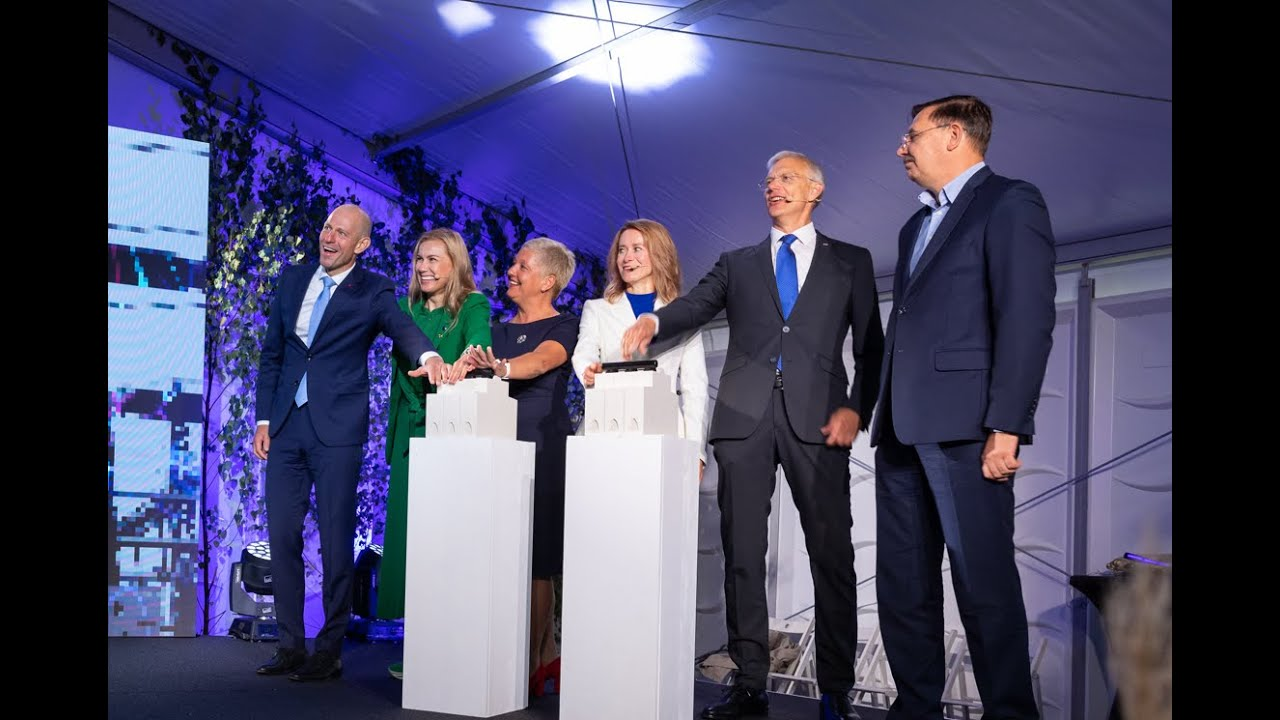 Opening of the EE-LV III electricity interconnection. 25th of August 2021, Kilingi-Nõmme, Estonia