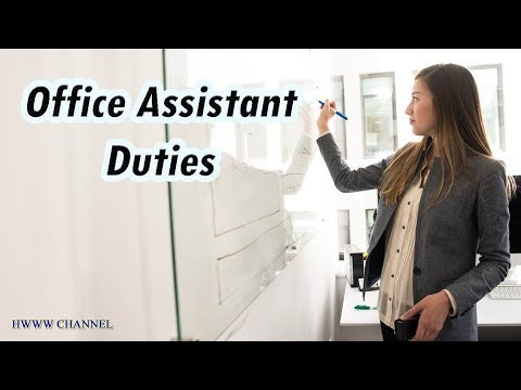 Office Assistant Duties And Responsibilities (+ Salary Info)