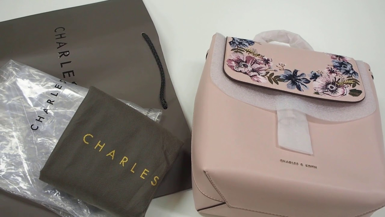 Charles & Keith Basic Front Flap Backpack hiZikzcDzz