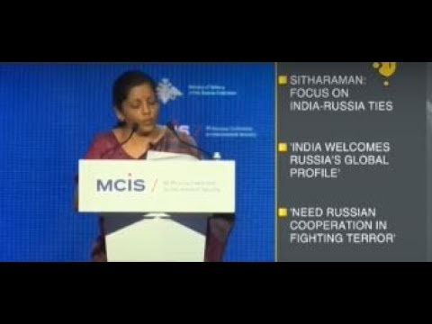 Breaking News: Nirmala Sitharaman speaks at Moscow security conference