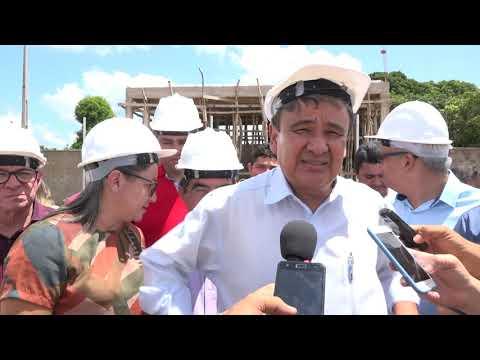 Wellington Dias e Themístocles Filho prestigiam inauguração de linhão de energia