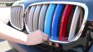 How to Choose and Install iJDMTOY BMW M-Sport Colors Grille Insert Trim