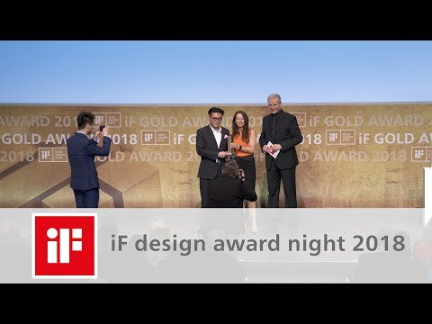 iF DESIGN AWARD 2018: Summit of International Design