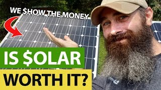 Is Solar Worth The Money? We Show The Numbers