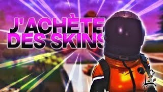 I BUY THE SKIN 'PATROUILLEUSE NOIRE' ON THE FORTNITE BOUTIQUE! #4