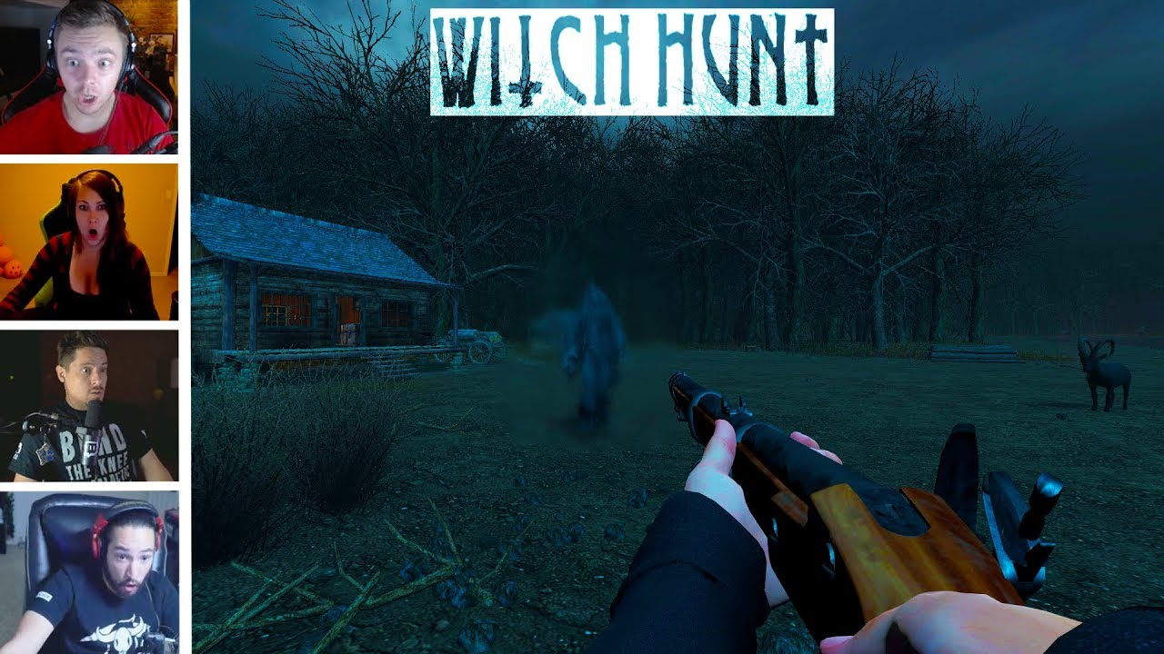 Witch Hunt Top Twitch Jumpscares Compilation Horror Games
