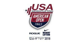 2018 American Open Finals - Sunday - White Platform