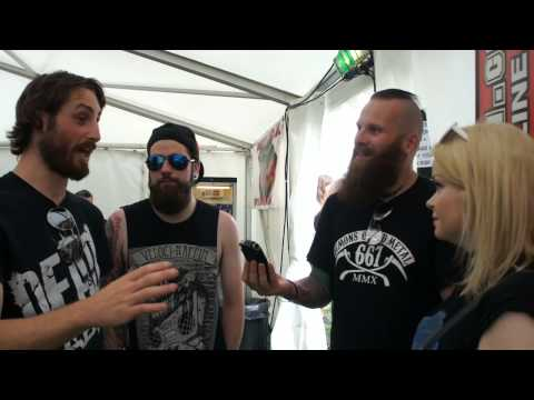 Dead Label Bloodstock Festival Interview 2015