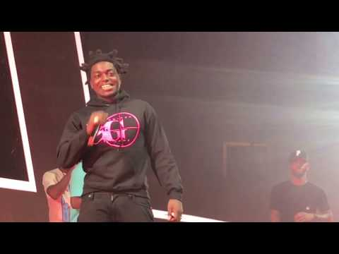 Bryson Tiller Brings out Kodak Black at the Set It Off Tour in Miami