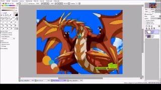 Bakugan Speedpaint // Neo Dragonoid