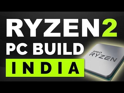 RYZEN GEN 2 : PC BUILD INDIA. Basic Thing About AMD Ryzen 2 CPU R7 2700X, R7 2700, R5 2600X, R5 2600