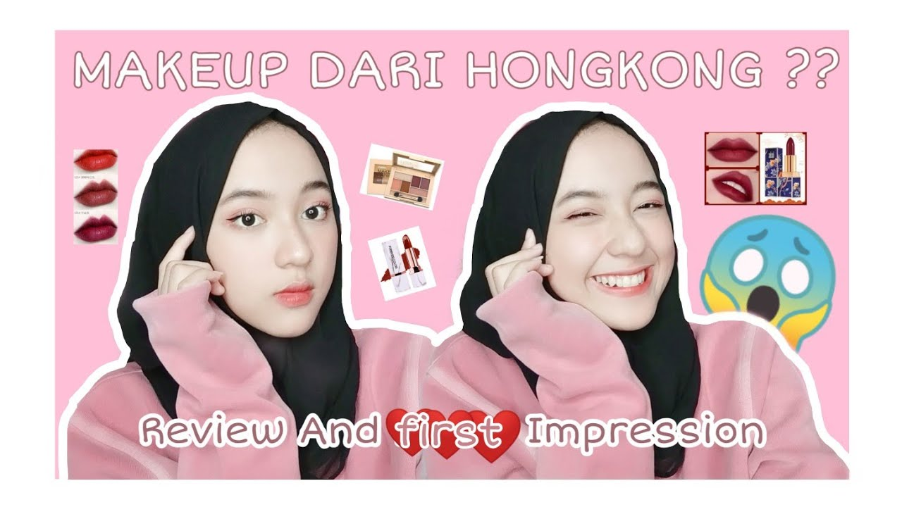 Makeup dari Hong kong??? Review jujur tentang Produk Hongkong.