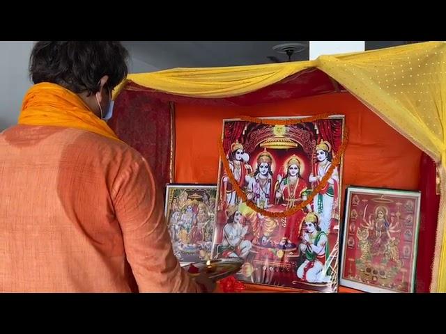गोरखपुर में सांसद ने लगाया अयोध्या दरवार। Ravi Kishan