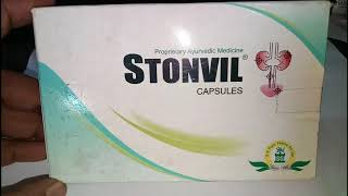 Stonvil Capsule - Uses, Side-effects, Reviews, and Precautions