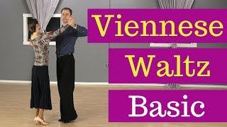 Viennese Waltz Basic Steps (The Box Step)