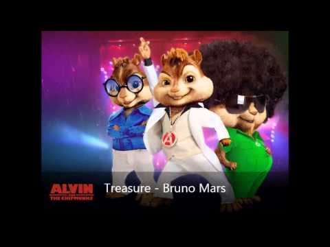 Treasure - Bruno Mars (Version Chipmunks)