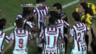 ¿Penal para el Tiburón?. Unión 0 - Aldosivi 0. Liguilla Pre-Sudamericana 2015. FPT.