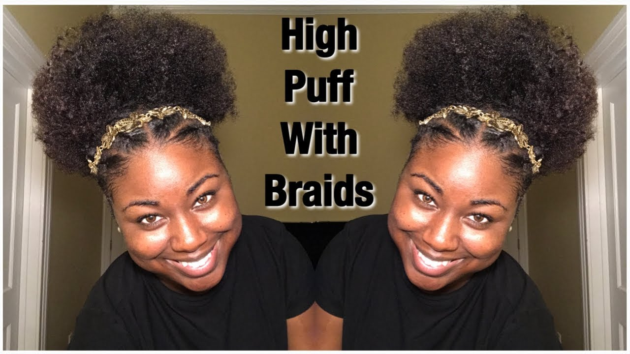 High Puff Natural Hairstyles Youtube