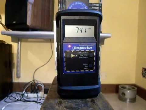 ☢ Strange radioactive contamination on aircraft instrument - Further investigation