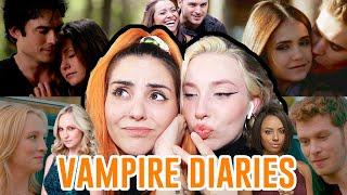 HABLANDO DE VAMPIRE DIARIES | Andrea Compton ft Julia