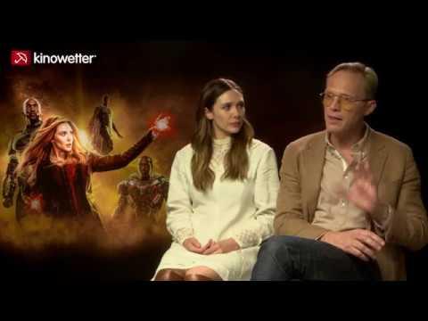 Elizabeth Olsen & Paul Bettany  AVENGERS: INFINITY WAR