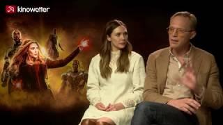 Baixar Interview Elizabeth Olsen & Paul Bettany  AVENGERS: INFINITY WAR
