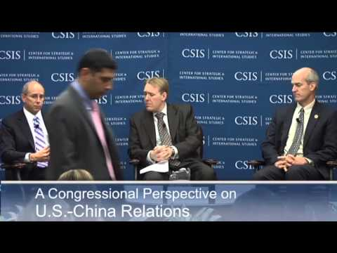 A Congressional Perspective on U.S.-China Relations