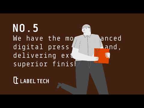 Label Tech | Self Adhesive Label Printing in Ireland
