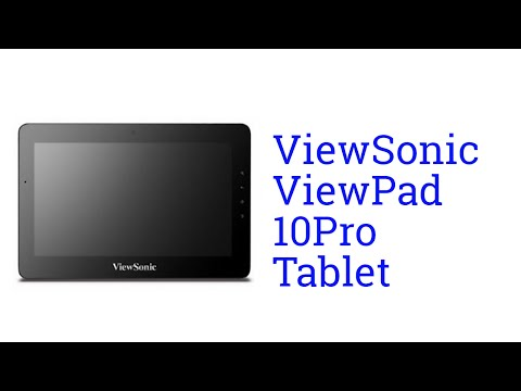 ViewSonic ViewPad 10Pro Tablet Specification [America]