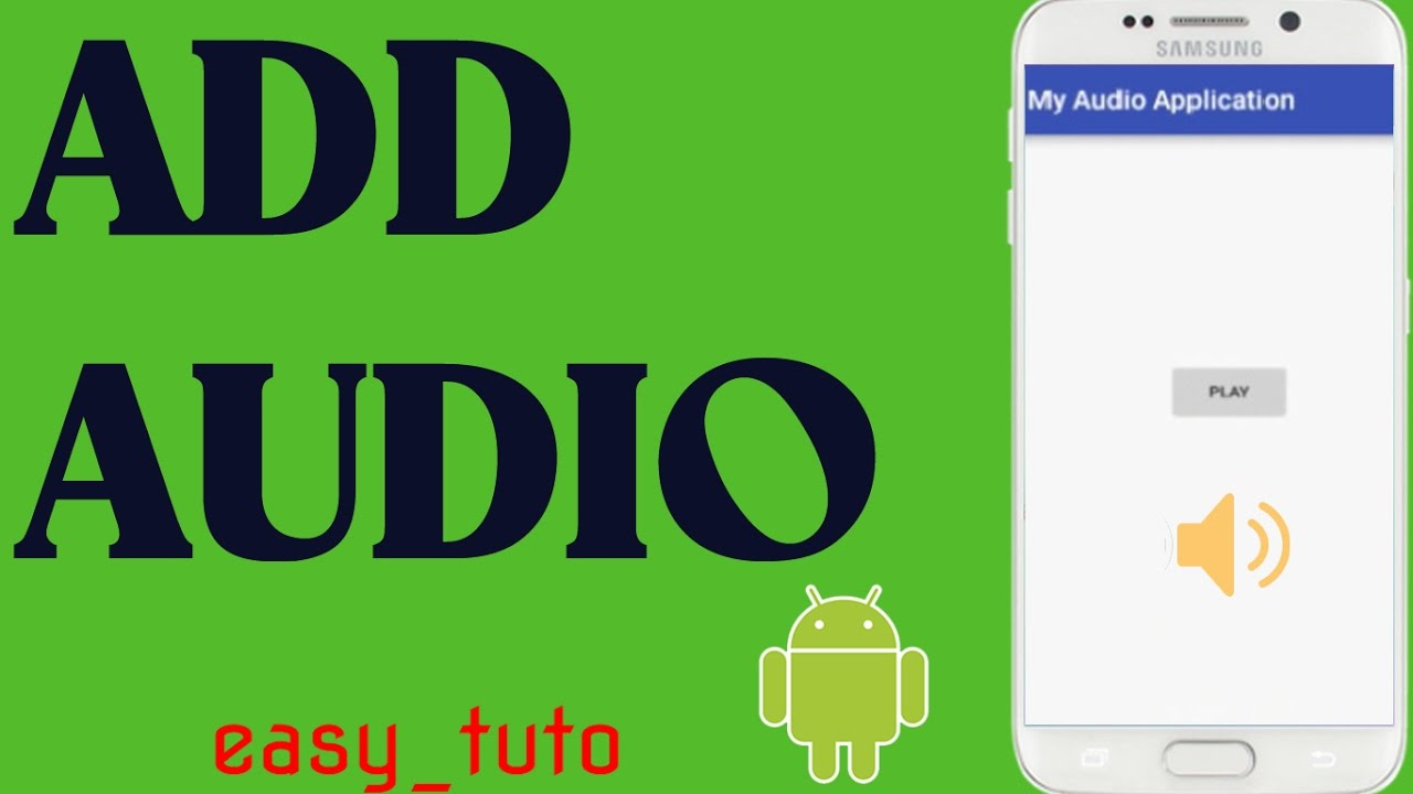 Audio/Music in Android App   Android Studio Tutorial (Beginners) HD   All  About Android