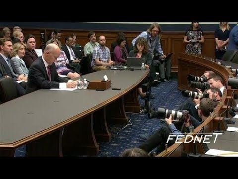 Former Equifax CEO Testifies Before House Committee