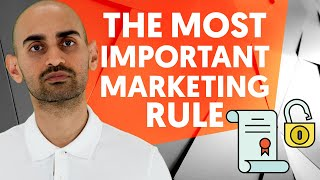 The Only Rule In Marketing You Have To Follow (Ignore This And Your Marketing Won
