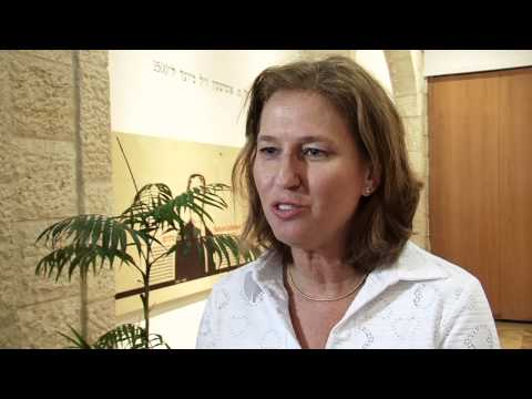 Tzipi Livni on Being a Woman in Politics in Israel
