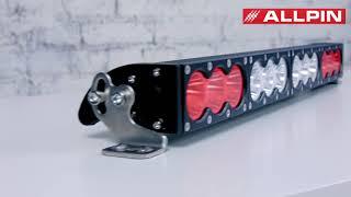 Светодиодная балка-фара Allpin 120 Вт Combo 2 режима