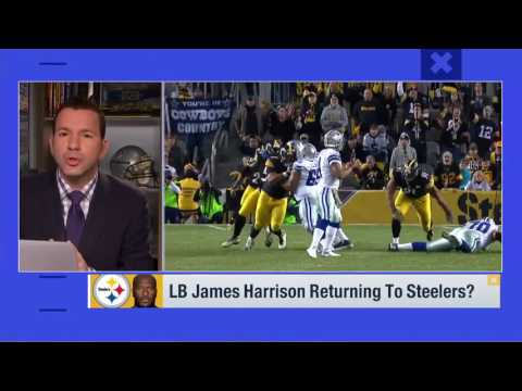 Rapoport James Harrison plans to return to Steelers   Good Morning Football   Feb 22, 2017