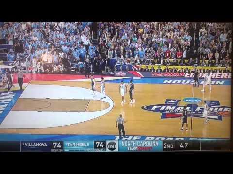 Kris Jenkins buzzer beater vs North Carolina (National title game)