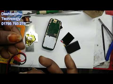 Nokia105 Dual Sim Ta Rm 1034 Display Problem Modify In