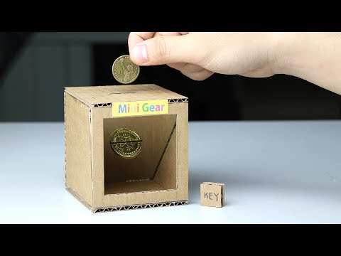 How to Make Magic Coin Box - Piggy Bank for Kids